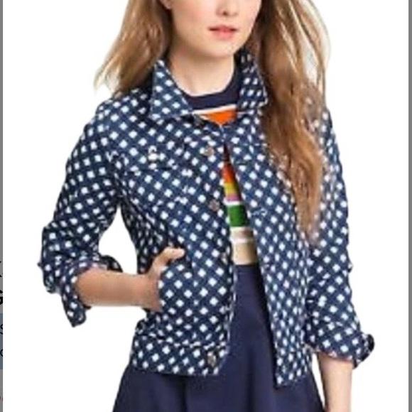 Kate Spade broome Street denim jacket